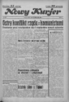 """Nowy Kurjer: dawniej """"Postęp"""" 1936.10.13 R.47 Nr238"""
