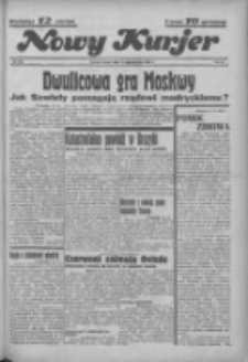 """Nowy Kurjer: dawniej """"Postęp"""" 1936.10.14 R.47 Nr239"""