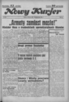 """Nowy Kurjer: dawniej """"Postęp"""" 1936.10.15 R.47 Nr240"""
