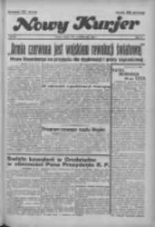"""Nowy Kurjer: dawniej """"Postęp"""" 1936.10.17 R.47 Nr242"""