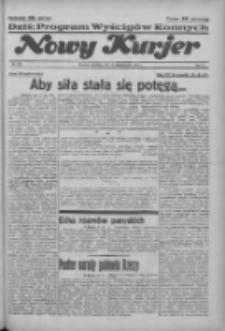 """Nowy Kurjer: dawniej """"Postęp"""" 1936.10.18 R.47 Nr243"""