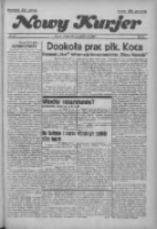 """Nowy Kurjer: dawniej """"Postęp"""" 1936.10.20 R.47 Nr244"""