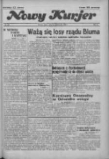 """Nowy Kurjer: dawniej """"Postęp"""" 1936.10.24 R.47 Nr248"""