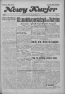 """Nowy Kurjer: dawniej """"Postęp"""" 1936.10.28 R.47 Nr251"""