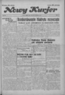 """Nowy Kurjer: dawniej """"Postęp"""" 1936.10.30 R.47 Nr253"""