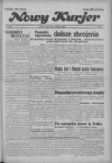 """Nowy Kurjer: dawniej """"Postęp"""" 1936.11.03 R.47 Nr256"""
