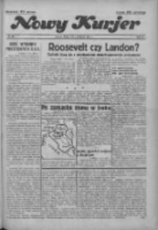 """Nowy Kurjer: dawniej """"Postęp"""" 1936.11.04 R.47 Nr257"""