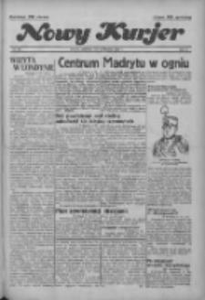 """Nowy Kurjer: dawniej """"Postęp"""" 1936.11.08 R.47 Nr261"""