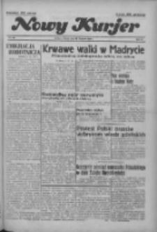"""Nowy Kurjer: dawniej """"Postęp"""" 1936.11.10 R.47 Nr262"""