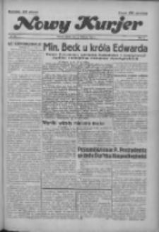 """Nowy Kurjer: dawniej """"Postęp"""" 1936.11.13 R.47 Nr265"""