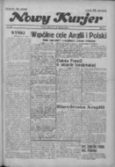 """Nowy Kurjer: dawniej """"Postęp"""" 1936.11.14 R.47 Nr266"""