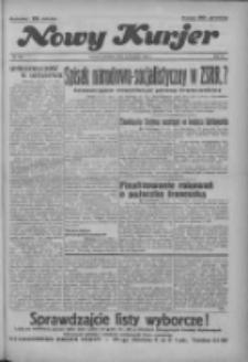"""Nowy Kurjer: dawniej """"Postęp"""" 1936.11.15 R.47 Nr267"""