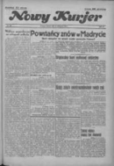 """Nowy Kurjer: dawniej """"Postęp"""" 1936.11.17 R.47 Nr268"""