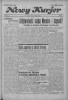 """Nowy Kurjer: dawniej """"Postęp"""" 1936.11.18 R.47 Nr269"""