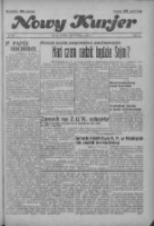 """Nowy Kurjer: dawniej """"Postęp"""" 1936.11.22 R.47 Nr273"""