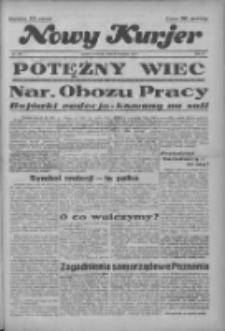 """Nowy Kurjer: dawniej """"Postęp"""" 1936.11.26 R.47 Nr276"""