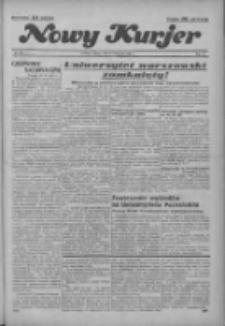 """Nowy Kurjer: dawniej """"Postęp"""" 1936.11.27 R.47 Nr277"""