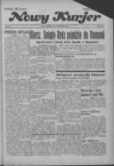 """Nowy Kurjer: dawniej """"Postęp"""" 1936.11.29 R.47 Nr279"""