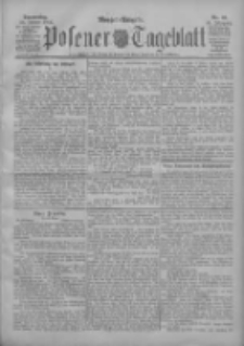 Posener Tageblatt 1906.01.25 Jg.45 Nr40
