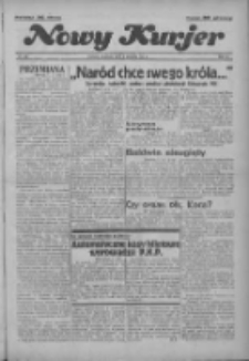 """Nowy Kurjer: dawniej """"Postęp"""" 1936.12.06 R.47 Nr285"""