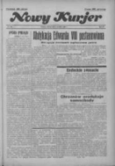 """Nowy Kurjer: dawniej """"Postęp"""" 1936.12.08 R.47 Nr286"""