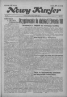 """Nowy Kurjer: dawniej """"Postęp"""" 1936.12.10 R.47 Nr287"""