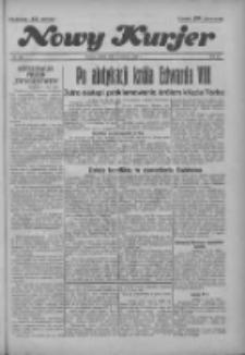 """Nowy Kurjer: dawniej """"Postęp"""" 1936.12.12 R.47 Nr289"""