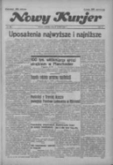 """Nowy Kurjer: dawniej """"Postęp"""" 1936.12.20 R.47 Nr296"""