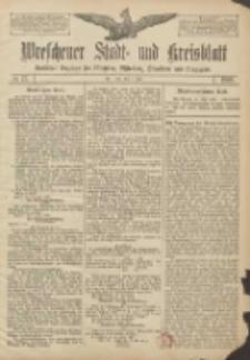 Wreschener Stadt und Kreisblatt: amtlicher Anzeiger für Wreschen, Miloslaw, Strzalkowo und Umgegend 1906.07.05 Nr77