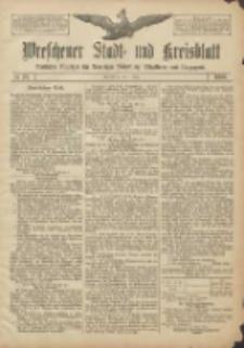 Wreschener Stadt und Kreisblatt: amtlicher Anzeiger für Wreschen, Miloslaw, Strzalkowo und Umgegend 1906.07.07 Nr78