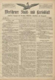 Wreschener Stadt und Kreisblatt: amtlicher Anzeiger für Wreschen, Miloslaw, Strzalkowo und Umgegend 1906.07.14 Nr81