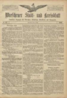 Wreschener Stadt und Kreisblatt: amtlicher Anzeiger für Wreschen, Miloslaw, Strzalkowo und Umgegend 1906.07.17 Nr82