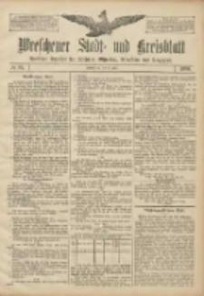 Wreschener Stadt und Kreisblatt: amtlicher Anzeiger für Wreschen, Miloslaw, Strzalkowo und Umgegend 1906.07.28 Nr87