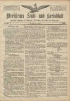 Wreschener Stadt und Kreisblatt: amtlicher Anzeiger für Wreschen, Miloslaw, Strzalkowo und Umgegend 1906.08.02 Nr89
