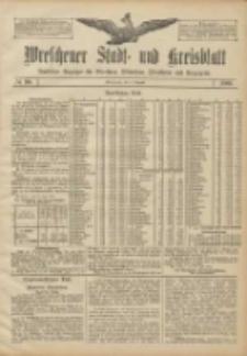 Wreschener Stadt und Kreisblatt: amtlicher Anzeiger für Wreschen, Miloslaw, Strzalkowo und Umgegend 1906.08.04 Nr90