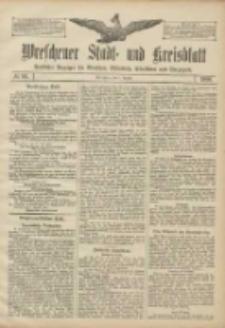Wreschener Stadt und Kreisblatt: amtlicher Anzeiger für Wreschen, Miloslaw, Strzalkowo und Umgegend 1906.08.07 Nr91