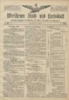 Wreschener Stadt und Kreisblatt: amtlicher Anzeiger für Wreschen, Miloslaw, Strzalkowo und Umgegend 1906.08.14 Nr94