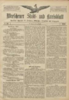 Wreschener Stadt und Kreisblatt: amtlicher Anzeiger für Wreschen, Miloslaw, Strzalkowo und Umgegend 1906.08.16 Nr95