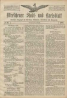 Wreschener Stadt und Kreisblatt: amtlicher Anzeiger für Wreschen, Miloslaw, Strzalkowo und Umgegend 1906.08.18 Nr96