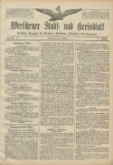 Wreschener Stadt und Kreisblatt: amtlicher Anzeiger für Wreschen, Miloslaw, Strzalkowo und Umgegend 1906.08.21 Nr97