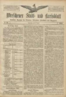 Wreschener Stadt und Kreisblatt: amtlicher Anzeiger für Wreschen, Miloslaw, Strzalkowo und Umgegend 1906.08.23 Nr98