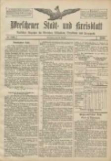 Wreschener Stadt und Kreisblatt: amtlicher Anzeiger für Wreschen, Miloslaw, Strzalkowo und Umgegend 1906.08.28 Nr100