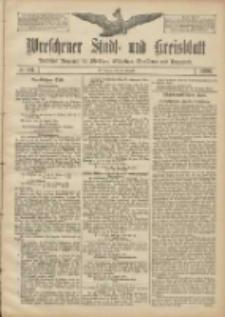 Wreschener Stadt und Kreisblatt: amtlicher Anzeiger für Wreschen, Miloslaw, Strzalkowo und Umgegend 1906.08.30 Nr101