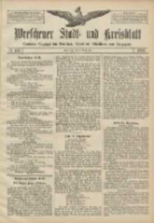 Wreschener Stadt und Kreisblatt: amtlicher Anzeiger für Wreschen, Miloslaw, Strzalkowo und Umgegend 1906.09.01 Nr102