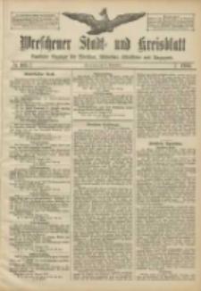 Wreschener Stadt und Kreisblatt: amtlicher Anzeiger für Wreschen, Miloslaw, Strzalkowo und Umgegend 1906.09.08 Nr105