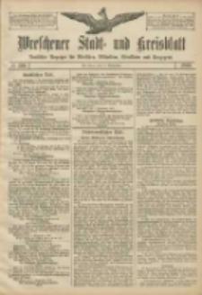 Wreschener Stadt und Kreisblatt: amtlicher Anzeiger für Wreschen, Miloslaw, Strzalkowo und Umgegend 1906.09.11 Nr106
