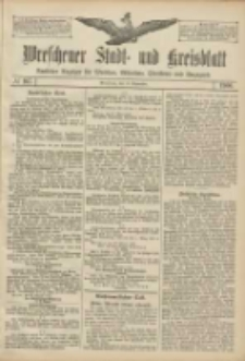 Wreschener Stadt und Kreisblatt: amtlicher Anzeiger für Wreschen, Miloslaw, Strzalkowo und Umgegend 1906.09.13 Nr107