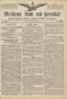 Wreschener Stadt und Kreisblatt: amtlicher Anzeiger für Wreschen, Miloslaw, Strzalkowo und Umgegend 1906.09.18 Nr109