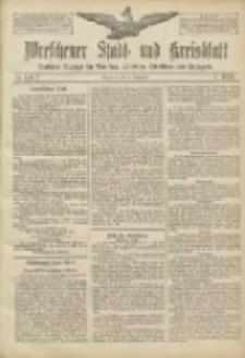 Wreschener Stadt und Kreisblatt: amtlicher Anzeiger für Wreschen, Miloslaw, Strzalkowo und Umgegend 1906.09.20 Nr110