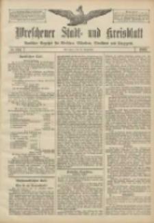 Wreschener Stadt und Kreisblatt: amtlicher Anzeiger für Wreschen, Miloslaw, Strzalkowo und Umgegend 1906.09.29 Nr114